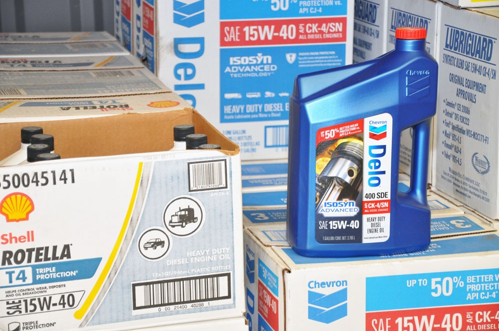 Proudly Distributing Shell and Chevron Products